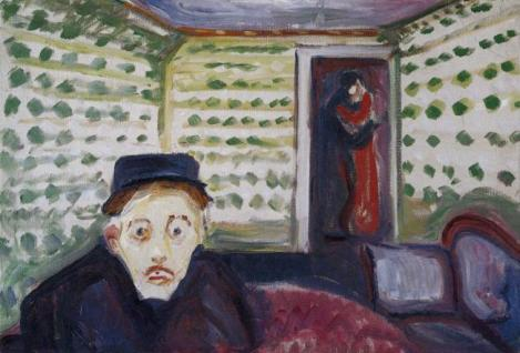 Jealousy by Edvard Munch.